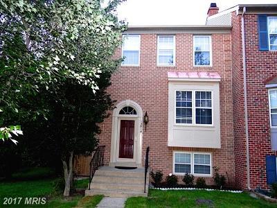Centreville Townhouse For Sale: 13814 Rock Terrace