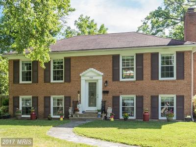 Alexandria Single Family Home For Sale: 9100 Grist Mill Road