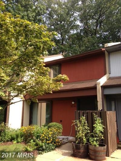 Reston Rental For Rent: 2231 Cartwright Place