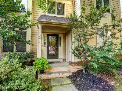 Fairfax Townhouse For Sale: 12624 Victoria Station Court