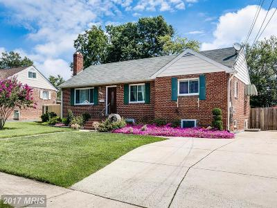 Springfield Single Family Home For Sale: 6019 Dinwiddie Street
