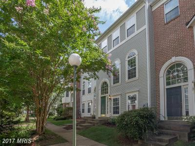 Fairfax Townhouse For Sale: 4128 Fountainside Lane