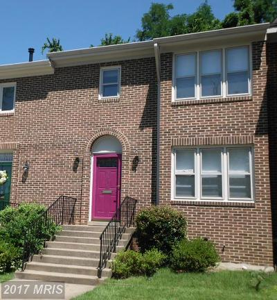 Annandale Townhouse For Sale: 8318 Highcliffe Court