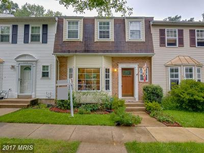Fairfax Townhouse For Sale: 5316 Anchor Court