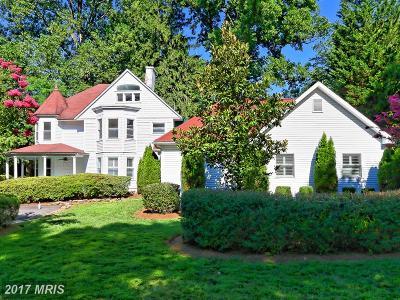 Dunn Loring Single Family Home For Sale: 2420 Sandburg Street