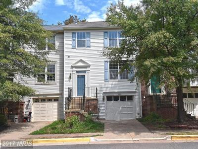 Centreville Townhouse For Sale: 14606 Stream Pond Drive