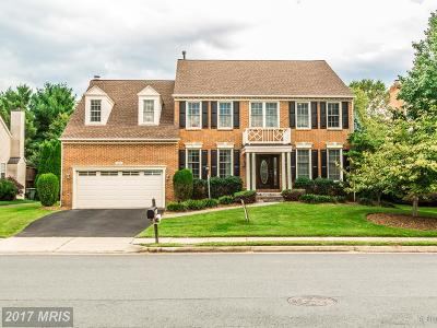 Herndon Single Family Home For Sale: 2631 Meadow Hall Drive