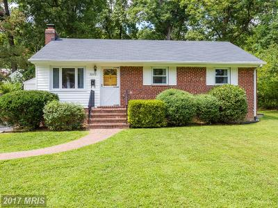 Falls Church Single Family Home For Sale: 3242 Nealon Drive