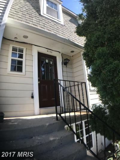 Chantilly Townhouse For Sale: 4131 Dawn Valley Court #73G