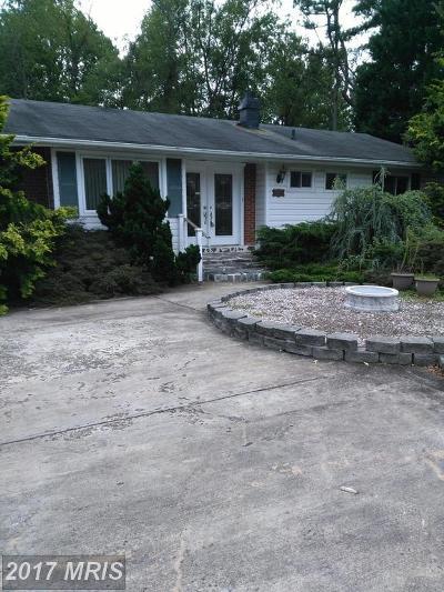 Falls Church Single Family Home For Sale: 7717 Shreve Road