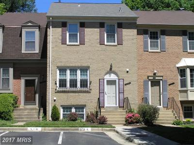 Fairfax Townhouse For Sale: 10483 Malone Court
