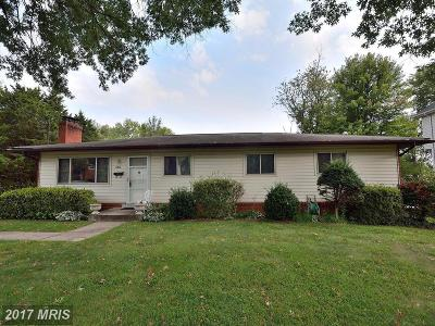 Mc Lean, Mclean Single Family Home For Sale: 6810 Old Chesterbrook Road