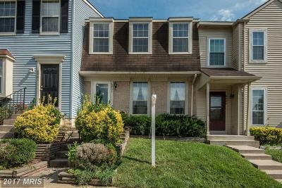 Centreville Townhouse For Sale: 6903 Hovingham Court