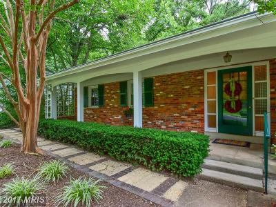 Alexandria Single Family Home For Sale: 9117 Volunteer Drive