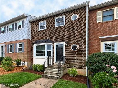 Fairfax Townhouse For Sale: 3032 White Birch Court