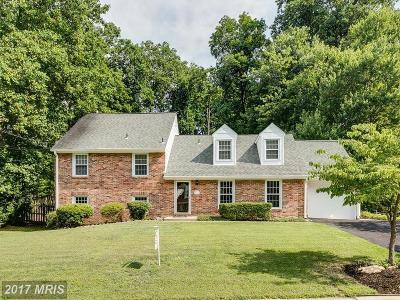 Fairfax Single Family Home For Sale: 9526 Stevebrook Road