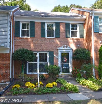 Springfield Townhouse For Sale: 8368 Uxbridge Court
