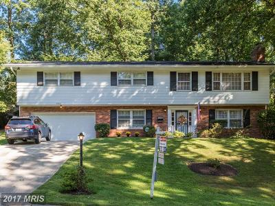 Fairfax Single Family Home For Sale: 9120 Glenbrook Road