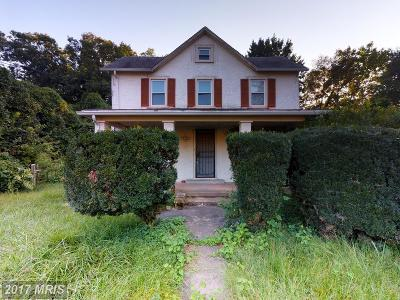 Fairfax Single Family Home For Sale: 3626 Munson Road