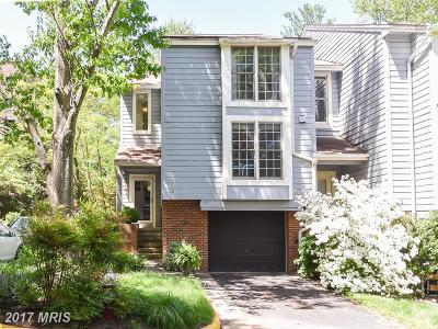 Fairfax Townhouse For Sale: 1612 Apricot Court