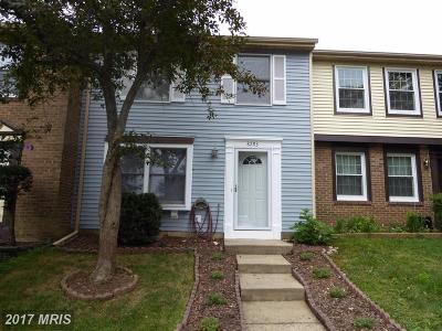 Springfield Townhouse For Sale: 8293 Bark Tree Court