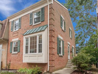 Springfield Townhouse For Sale: 6407 Thornhill Court