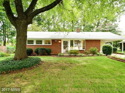 Springfield Single Family Home For Sale: 5303 Landgrave Lane