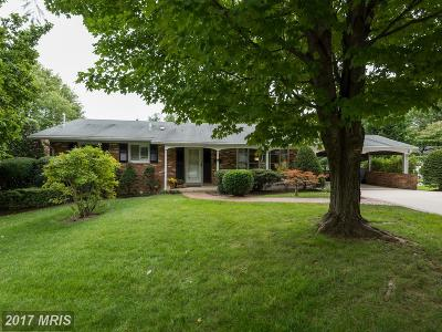 Annandale Single Family Home For Sale: 3705 Moss Drive