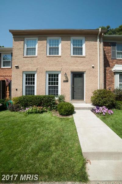 Springfield Townhouse For Sale: 8020 Bethelen Woods Lane