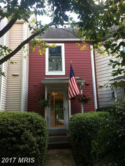 Reston Townhouse For Sale: 1727 Quietree Drive
