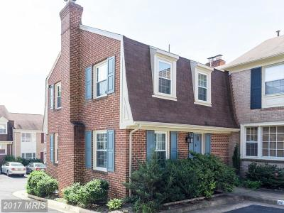 Falls Church Townhouse For Sale: 3008 Federal Hill Drive