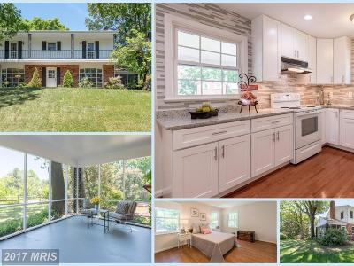 Annandale Single Family Home For Sale: 8508 Varsity Court