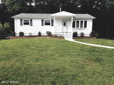 Fairfax Single Family Home For Sale: 4504 Gage Road