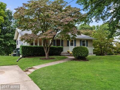 Annandale Single Family Home For Sale: 7708 Arlen Street