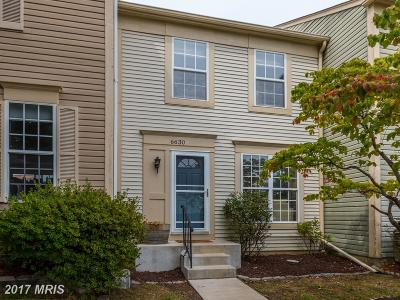 Alexandria Townhouse For Sale: 6630 Morning View Court