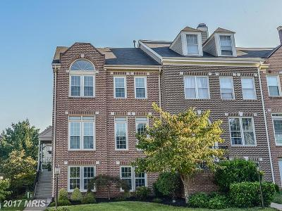 Centreville Townhouse For Sale: 5564 Sully Lake Drive