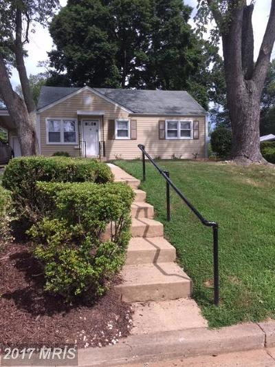 Falls Church Single Family Home For Sale: 1932 Burfoot Street