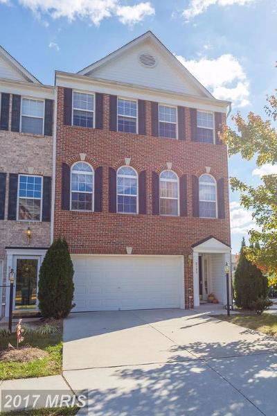Lorton Townhouse For Sale: 8199 McCauley Way