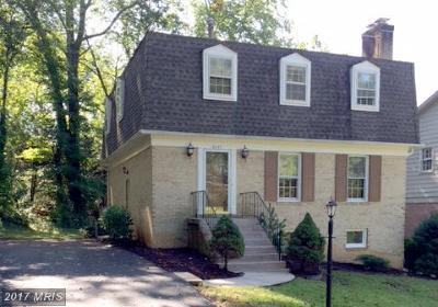 McLean Rental For Rent: 6833 Melrose Drive