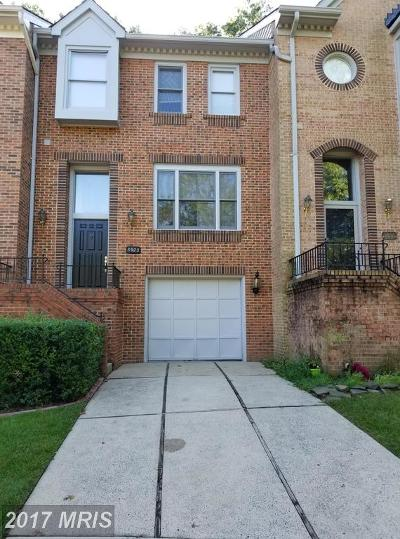 Fairfax Townhouse For Sale: 3923 Green Look Court