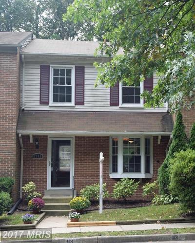 Springfield Townhouse For Sale: 6396 Shaundale Drive