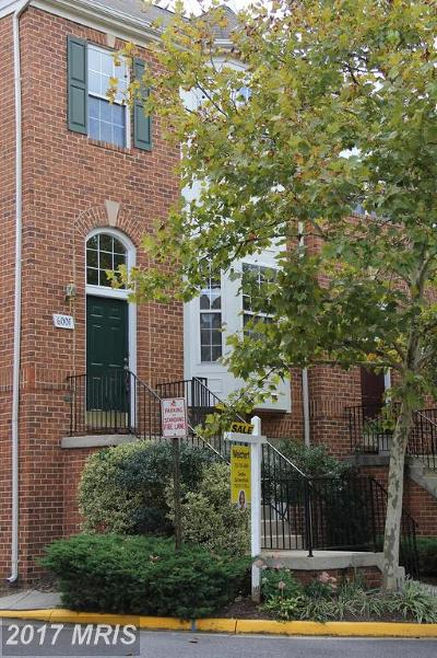 Falls Church Townhouse For Sale: 6001 Madison Overlook Court