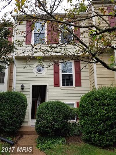 Reston Townhouse For Sale: 1604 Fieldthorn Drive