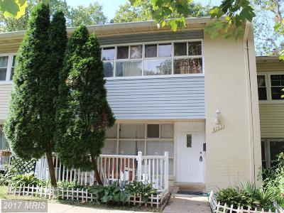 Annandale Townhouse For Sale: 4753 Parkman Court