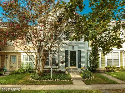 Alexandria Townhouse For Sale: 7130 Strawn Court