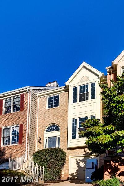 Centreville Townhouse For Sale: 5128 Woodford Drive