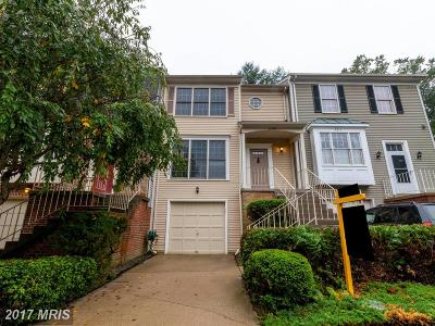 Springfield Townhouse For Sale: 8309 Ridge Crossing Lane