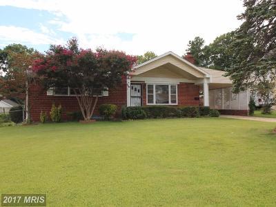 Alexandria Single Family Home For Sale: 3606 Paul Street