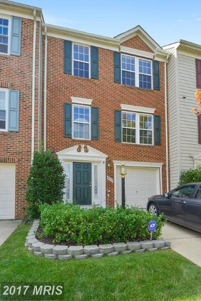 Lorton Townhouse For Sale: 8029 Horseshoe Cottage Circle