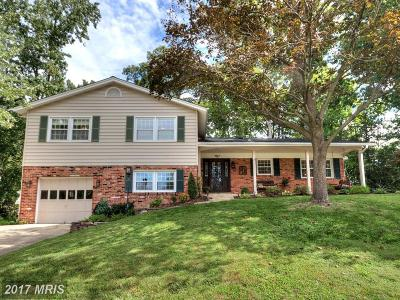 Fairfax Single Family Home For Sale: 4927 Gadsen Drive